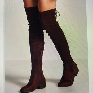 NWOT F21 Thigh high boots